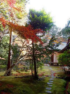 Kyoto Kokedera Saihoji Temple de mousses | von Annie Guilloret