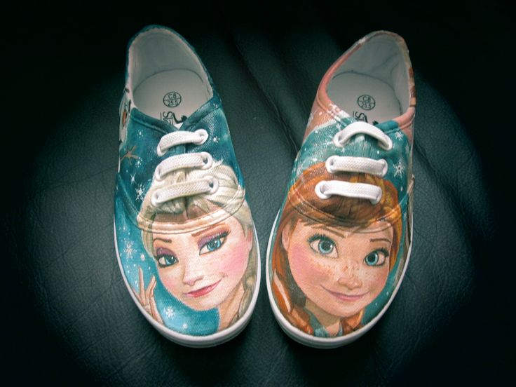 Customised hand-painted shoes, painted by me!