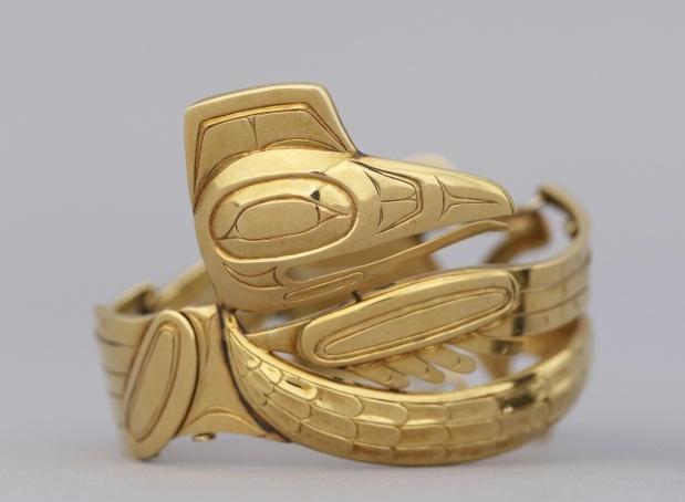 Bill Reid. Raven bracelet, c. 1955,