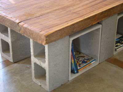 cama feita com bloco de concreto - Pesquisa Google