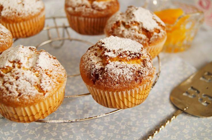 Кулинарные записки лентяйки: Апельсиново-кукурузные кексы М.Стюарт