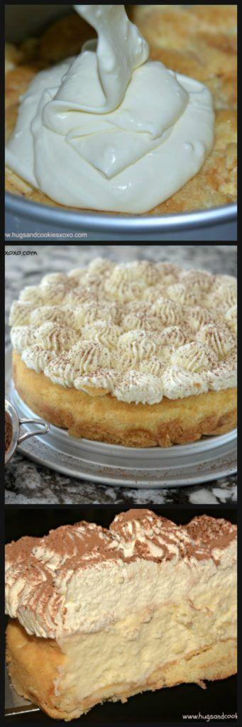 Tiramisu Cheesecake - Hugs and Cookies XOXO