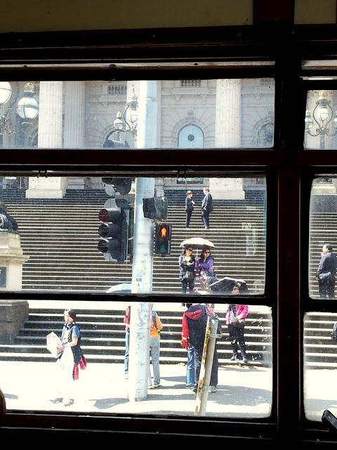 Melbourne Tram and Town Hall