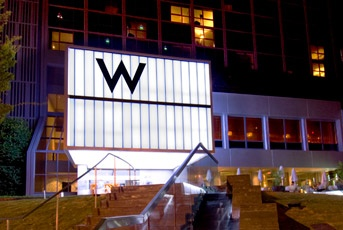 My home way from home when in the ATL! <3 W Hotel Midtown Atlanta