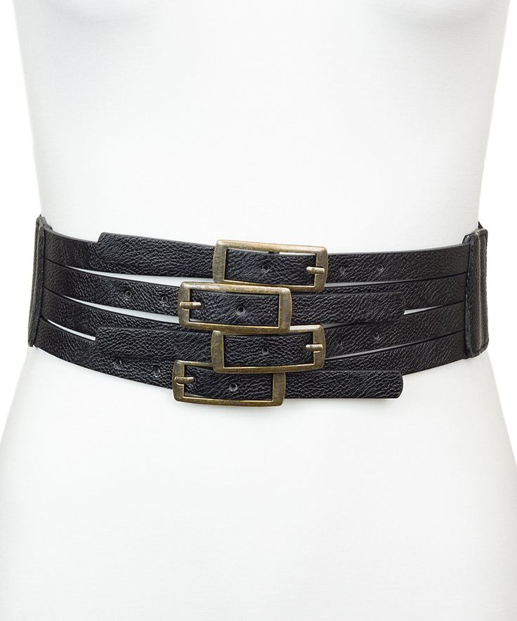 Take a look at this Black Four-Layer Stretch Belt today!