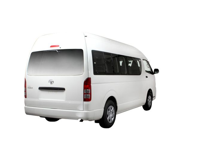 Toyota Auto2000 Hiace Full Rear Exteriorr Type Commuter