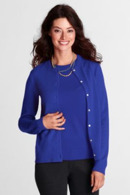Our cardigan sweater flatters your on Lands' End products Lands' End Women's Short Sleeve Supima Sweater. by Lands' End. $ $ 39 95 Prime. FREE Shipping on eligible orders. Some sizes/colors are Prime eligible. Product Description Supima cardigans.