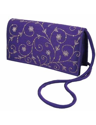 Regalos bolsos para mujer tela de seda bordado a mano: Amazon.es: Juguetes y juegos