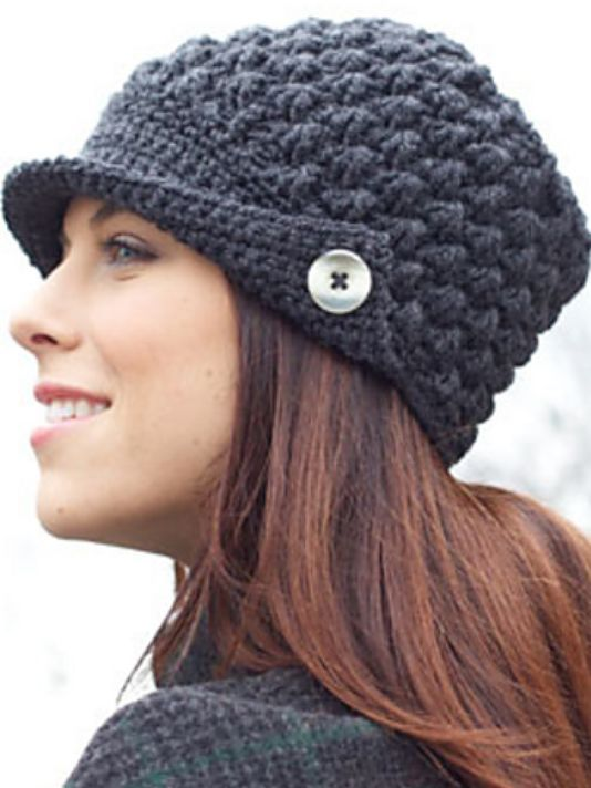 In Stitches: Crochet this stylish hat