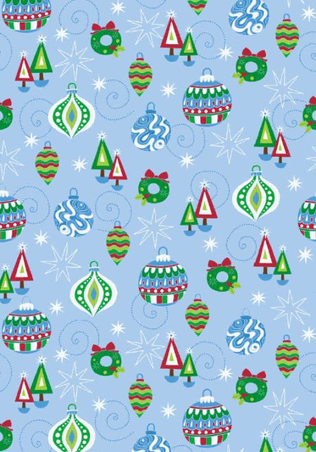 Christmas decorations scrapbook paper .wrapping paper . ..♥..Nims..♥