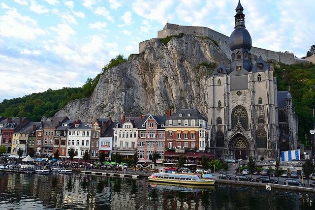 Dinant, Belgium photo by straman via flickr