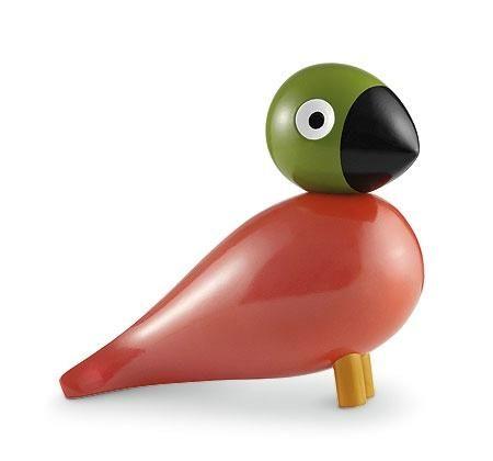 POP - Denne fugl har han lavet fordi den skal symbolisere de farver på et gammelt dags sugerør, da han satte det samme med danskvand. Han elskede dansk vand og det med at det boblede.