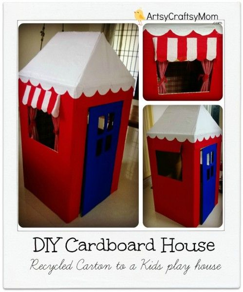 NapadyNavody.sk | Potešte svoje deti s kreatívnymi nápadmi na domčeky z kartónových krabíc