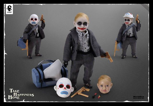 This Baby Joker collectable toy scares the CRAP outta me. @April Pugh - I think you need this.