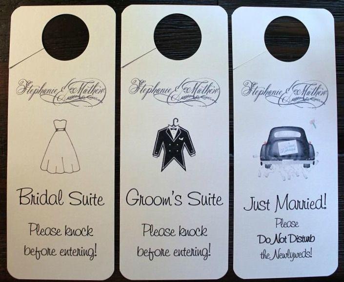 Best 25 Wedding door hangers ideas – Wedding Door Hanger Template
