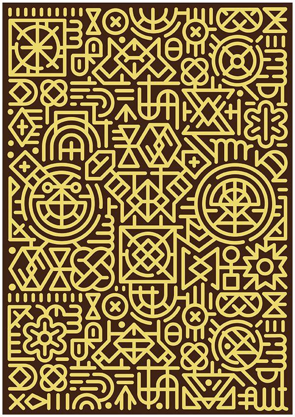 Berlin Boombox pattern design by Cape Town studio MUTI