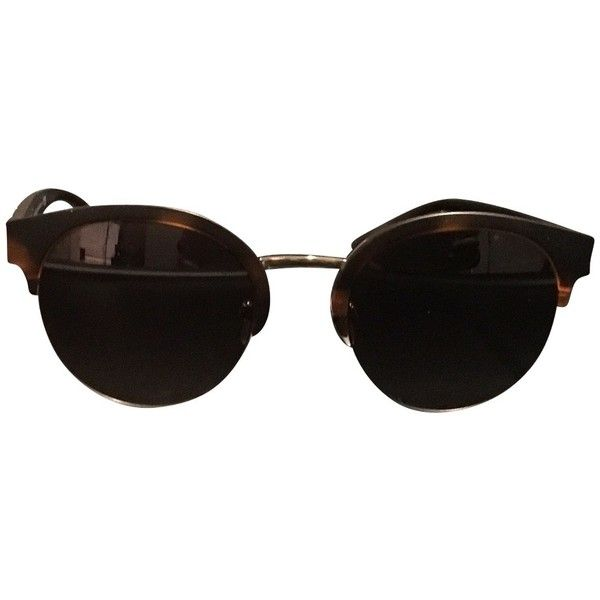 1f25eaba2b9b Pre-owned sunglasses ( 185) ❤ liked on Polyvore featuring accessories