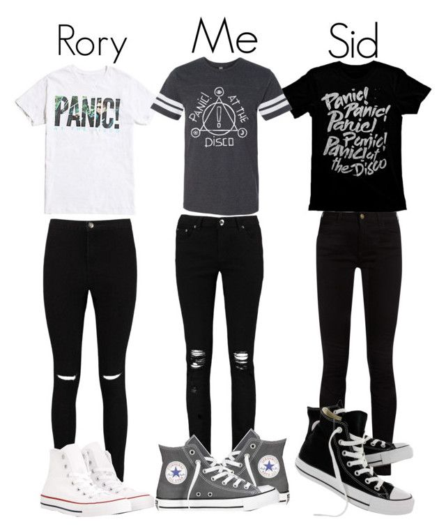 """Panic! At The Disco Outfits"" by slytherinavenger ❤ liked on Polyvore featuring Boohoo, Gucci and Converse"