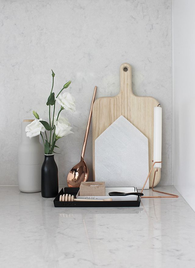 T.D.C | Resident GP: NUR Trays and No.Design copper Candle Holder