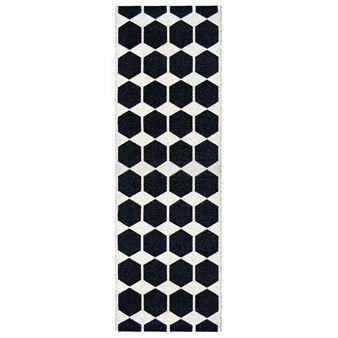 Anna matta svart - 70x200 cm - Brita Sweden