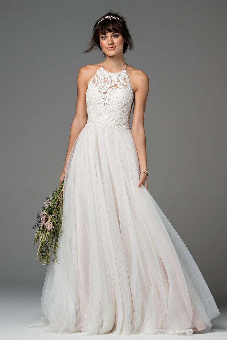 Best 25 halter wedding dresses ideas on pinterest for How to find a wedding dress