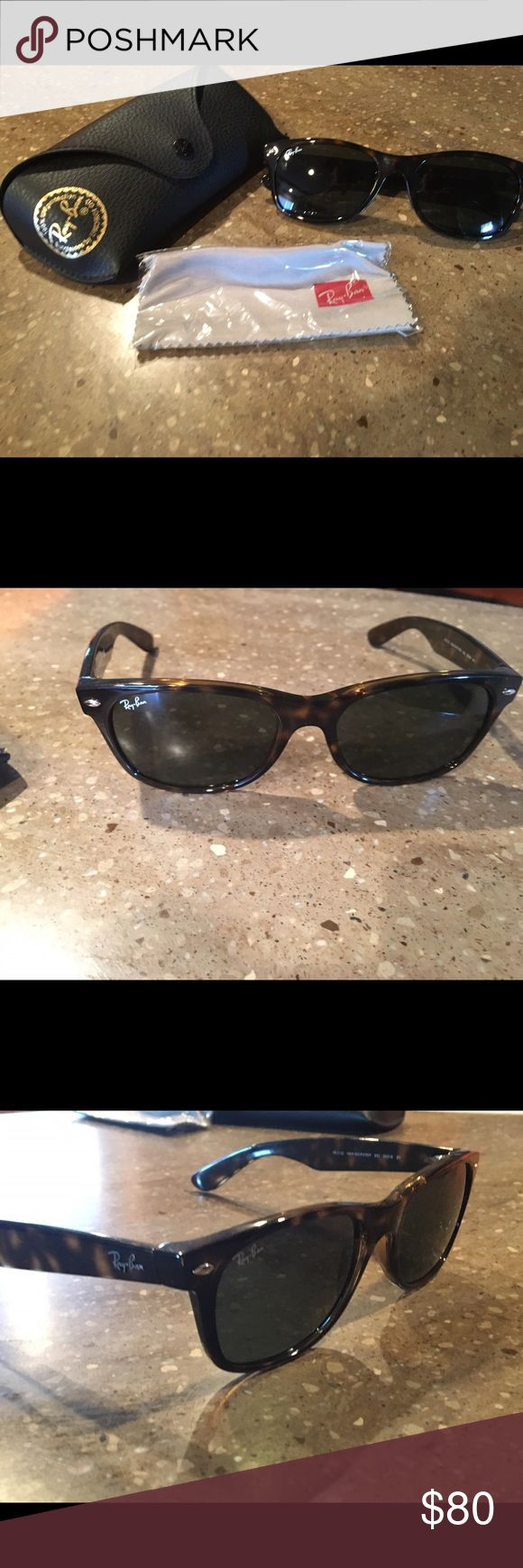 Wayfarer Ray-Bans Brand new, never been worn Ray-Ban Accessories Sunglasses