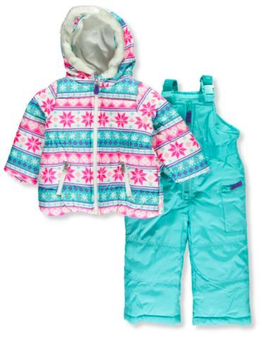 fdde9cb1f Carter s Baby Girls  2-piece Snowsuit