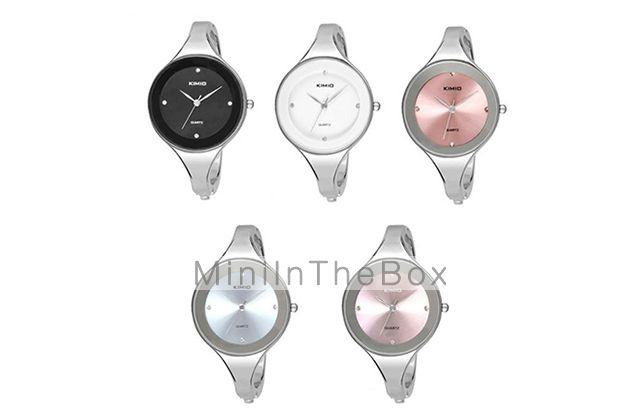 Montre-Bracelet à Quartz pour Femme, Bracelet en Alliage de 2015 à €5.69
