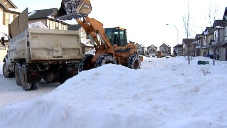 A record amount of snowfall in the month of December has put the city's roads budget into deficit for 2013. The City of Calgary's roads department will likely have to dip into reserve funds to pay for snow removal in 2013.   Thanks to a record snowfall during the month of December, the city says it anticipates spending much more than the budgeted amount of $34 million.  December snowfall breaks 112-year record Calgarians parked...