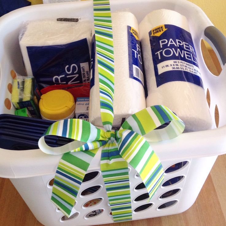 First Apartment or Home Gift Basket