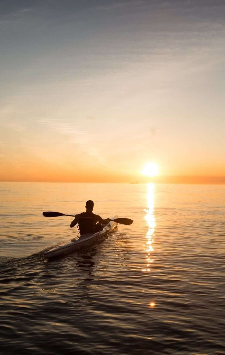 Hit the waters as a part of a guided kayak trip or do it solo!