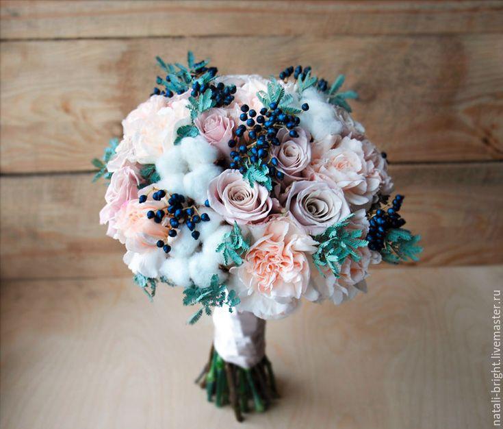 Купить Букет невесты из живых цветов Мента - букет невесты, букет для невесты, свадебный букет