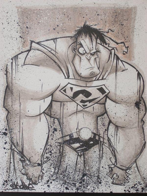 Bizzaro Comic Art