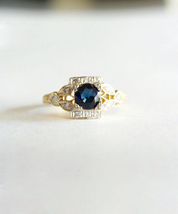 Harry Kotlar Heart Shape Diamonds Dynasty Ring - UK M - US 6 - EU 52 3/4 4dBtV