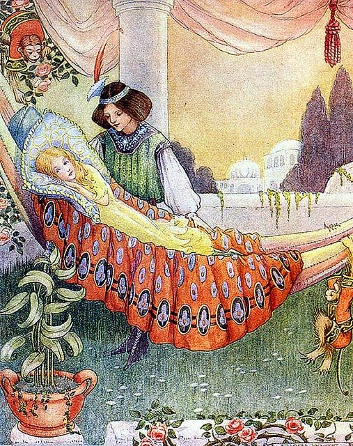 Спящая красавица шарля перро картинки