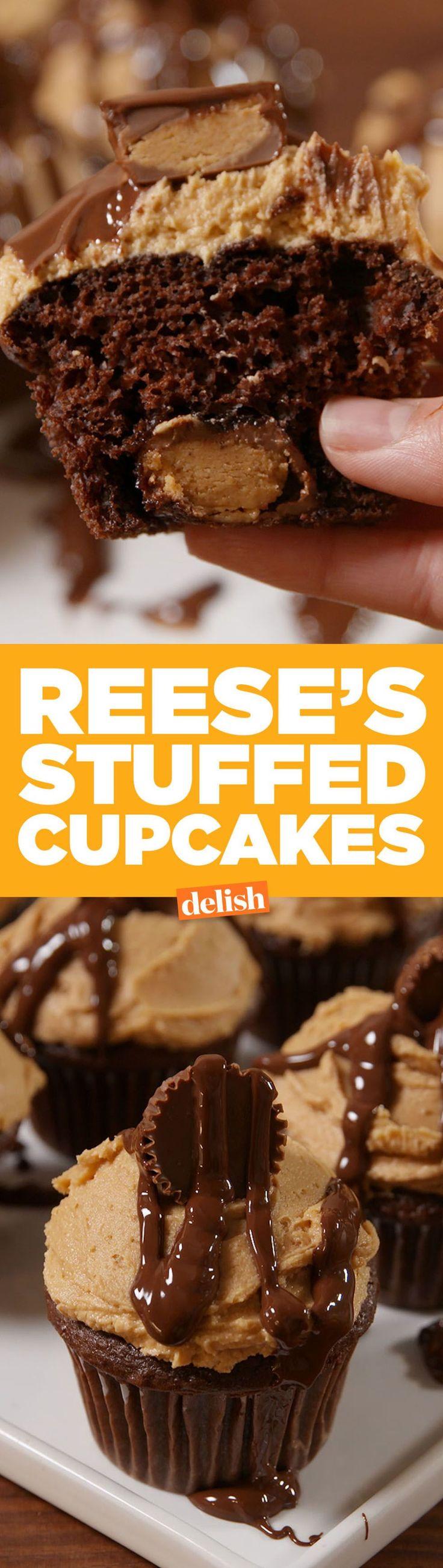 Easy chocolate peanut butter cupcake recipes