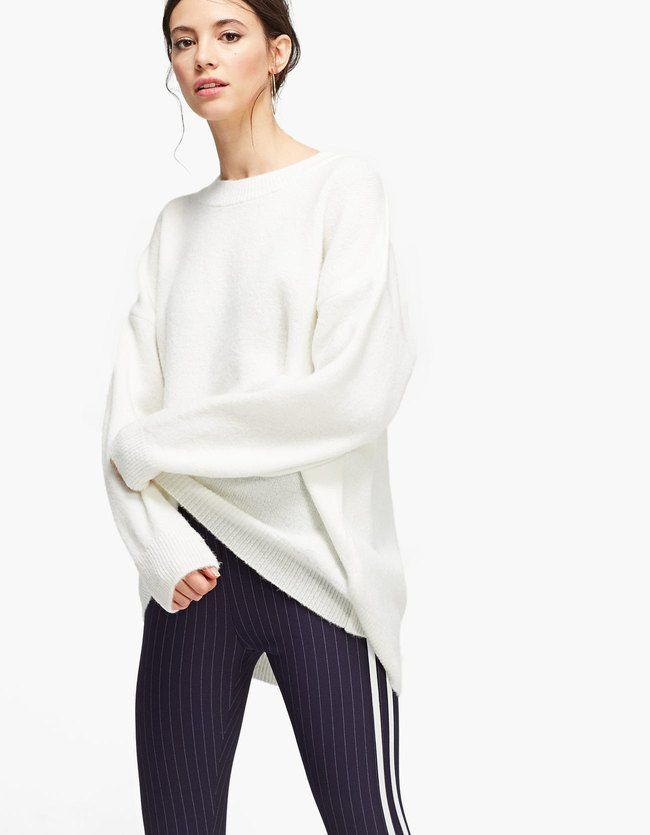 die besten 25 oversize pullover damen ideen auf pinterest oversize damen damen t shirts in. Black Bedroom Furniture Sets. Home Design Ideas