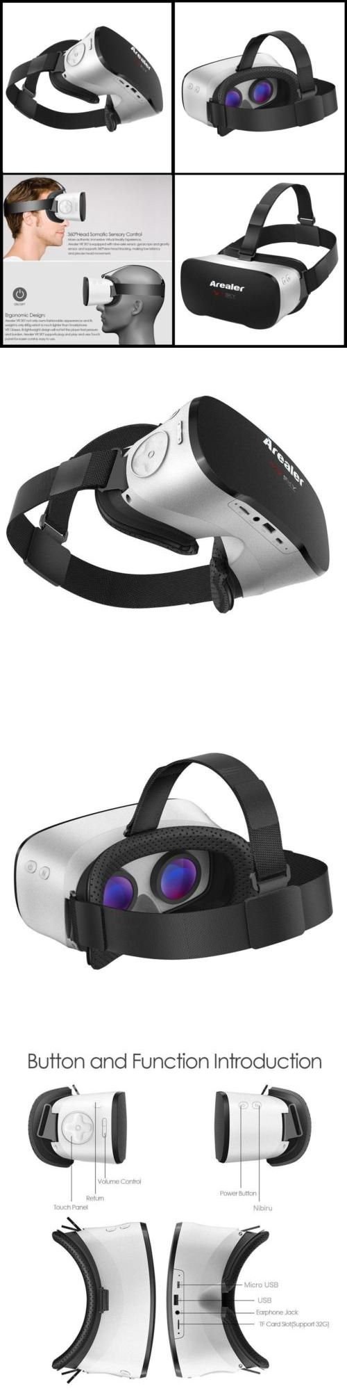 PC and Console VR Headsets: All-In-One High Definition Virtual Reality Vr Helmet Machine Headset 3D Glasses -> BUY IT NOW ONLY: $160 on eBay!