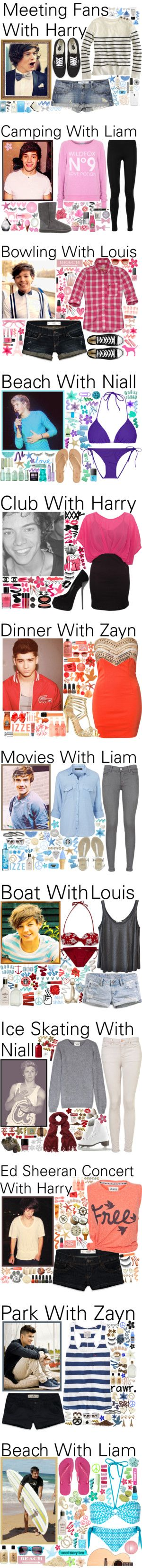 """Outfits 40 - 60 ♥"" by onedirection-outfits ❤ liked on Polyvore"