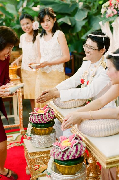 45 best My Traditional Thai Wedding images on Pinterest | Receptions ...