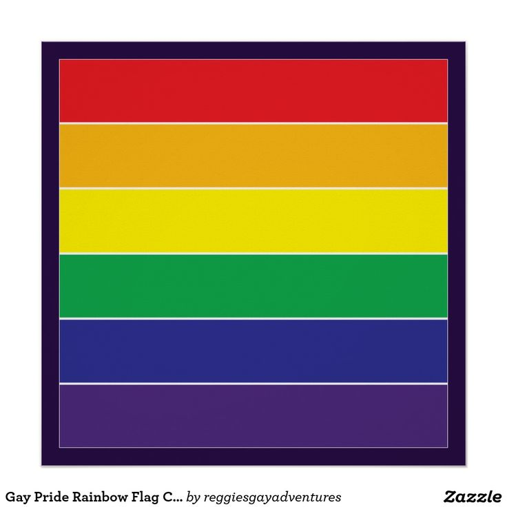 gay flags color variations