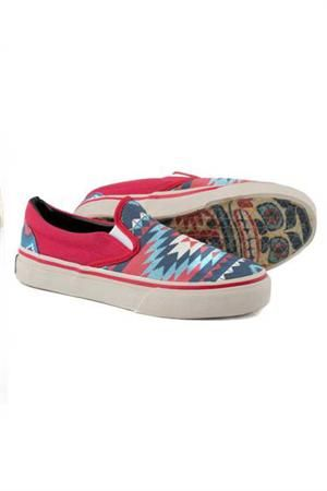 Love this print! Tin Haul Women's Native Slip On Shoes