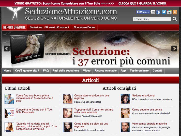Nicchia: Tecniche per sedurre una donna - by Marco Seduzi - www.seduzioneattrazione.com