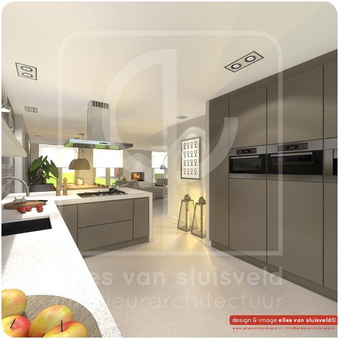 Keuken Design Tool : keuken ontwerp verbouwing woonhuis Elshout Pinterest