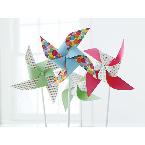Martha Stewart Modern Festive Paper Pinwheel Kit