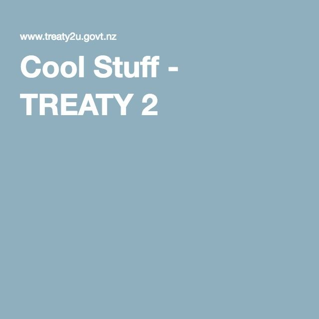 A very interactive website detailing the Treaty of Waitangi, a useful tool to share with classroom teachers. I also found this site excellent for personal learning.