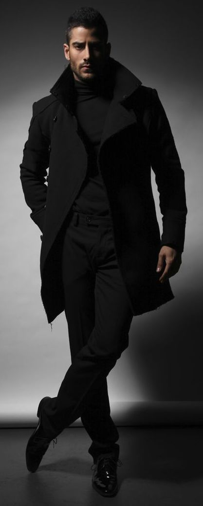 Brooding Shades of Black And Masculine