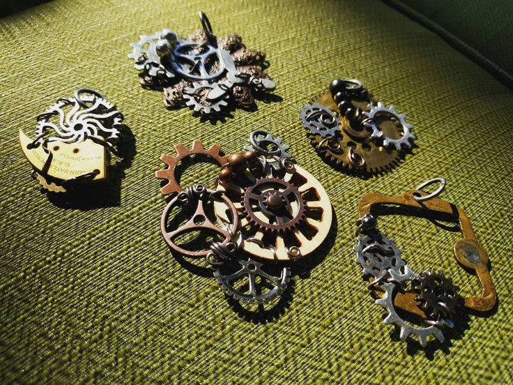 We recycle and re-purpose found items from all over the world into unique, one-of-a-kind jewelry and wearables. It's a Steampunk + adventure lifestyle! Papercranest.com