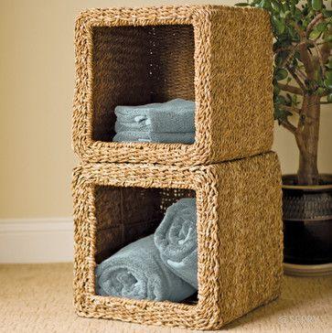 Hogla Cube Basket contemporary baskets