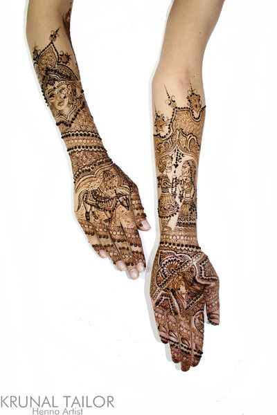 Mehndi Maharani 2013 Finalist: Krunal Tailor, Henna Artist http://maharaniweddings.com/gallery/photo/13864
